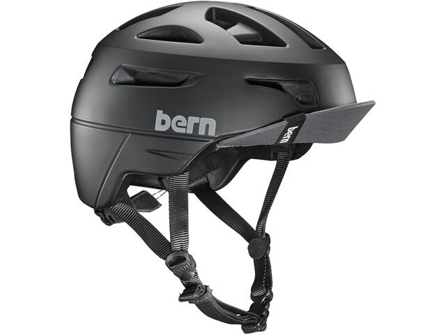 Bern M's Union Helmet with Flip Visor Matte Black